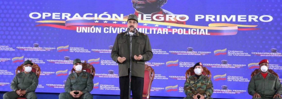"""Maduro acusa a Duque de supervisar a """"mercenarios"""" que atacarán a Venezuela"""