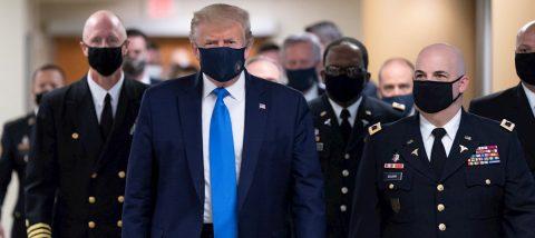 Trump critica un muro con México que fue construido por sus simpatizantes