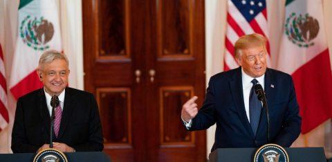 """López Obrador: Trump y yo """"somos amigos y vamos a seguir siendo amigos"""""""