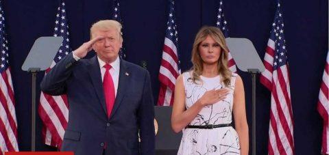 Trump abre la celebración de la Independencia con defensa de monumentos de EE.UU.