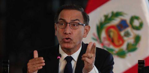 El presidente de Perú convoca a elecciones generales para el 11 de abril de 2021