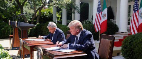 Frases más destacadas del encuentro de López Obrador y Trump en Casa Blanca