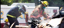 Un muerto, cinco heridos y tres casas destruidas por una explosión de gas en Baltimore