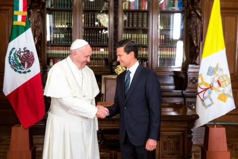 Primer discurso del Papa Francisco en México