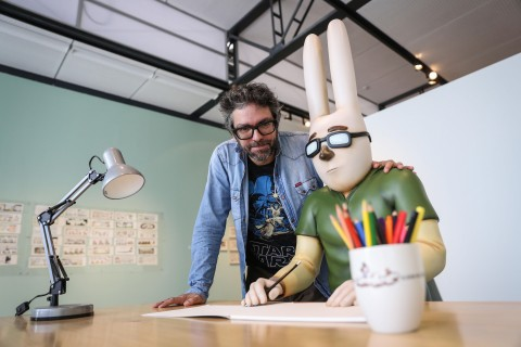 """Argentine cartoonist Liniers: """"Logical"""" for my work to be in museum"""