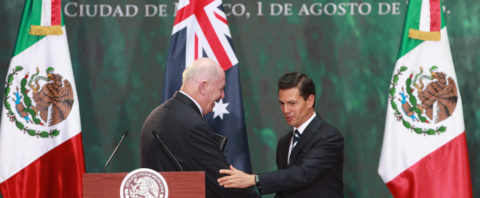 "Mexico, Australia agree on ""enormous potential"" of bilateral trade"