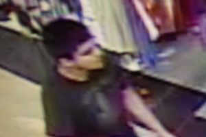A handout photograph made avaliable by Washington State Patrol showing a man beleived to be the shooter, armed with a rifle, who Washington State Patrol officers said is wanted in connection in the fatal shooting at the Cascade Mall in Burlington, Washington, USA, 23 September 2016. Washington State Patrol report that the gunman is on the loose and are asking members of the public to notify them after four people were fatally shot at a shopping mall about 65 miles north of Seattle, on the evening of 23 September 2016. Four confirmed deceased in the mall, shooter(s) left scene before police arrived, unknown number of shooters, possibly just one, police clearing mall now, stated 'Sgt. Mark Francis, a public information officer with Washington State Patrol EPA/SGT. MARK FRANCIS