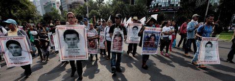 La tragedia de los 43 estudiantes desaparecidos de Iguala cumple dos años