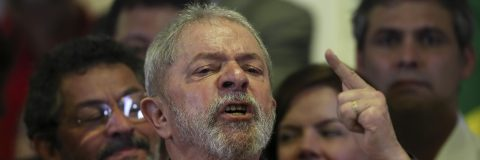 Brazil's Lula facing trial for corruption