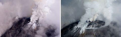 Evacúan dos comunidades por aumento actividad de volcán de Colima en México