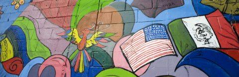 El muro fronterizo, el lienzo sobre el que artistas pintan unión y hermandad