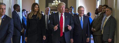 Trump meets with Republican leaders of Congress