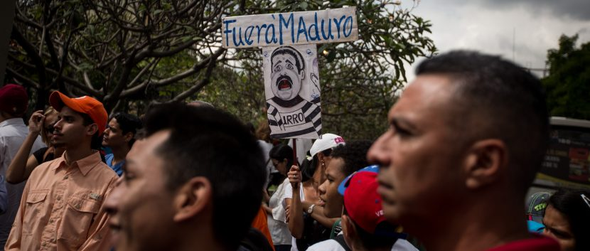 Venezuelan opposition occupying the streets to demand Maduro resignation
