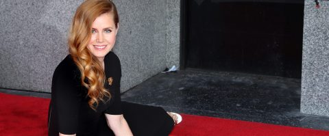 Amy Adams recibe su estrella en el Paseo de la Fama de Hollywood