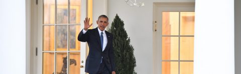 Obama leaves Oval Office for the final time
