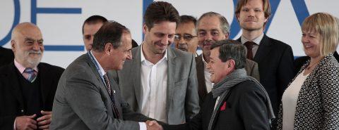 Colombian government, ELN guerrillas open peace talks in Quito