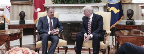Trump meets with Russia FM amid controversy over firing of FBI director