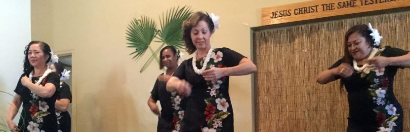 Family Church of Praise 2017 Luau Party – A Family Event in Tracy, California