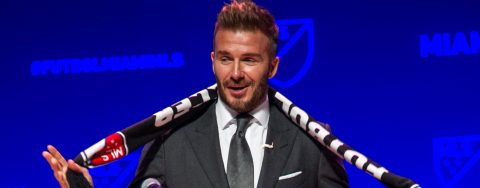Beckham says fans will choose name for Miami MLS team