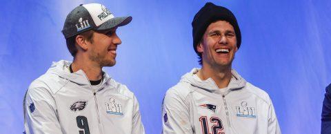 Patriots, Eagles land in Minneapolis as Super Bowl week kicks off