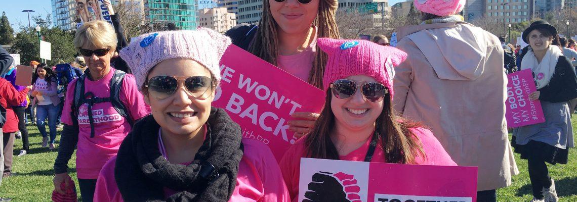 Women's March 2018 in San José – Solidarity in Common Goals
