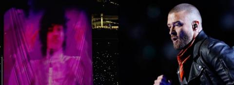 Justin Timberlake hace renacer a Prince en el medio tiempo del Super Bowl