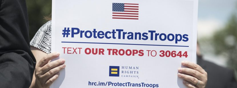 Trump issues new memo barring most transgender individuals from US military