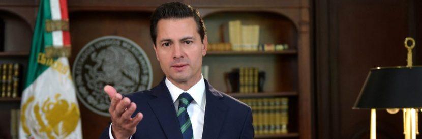 Peña Nieto insta a Trump a resolver los problemas bilaterales con respeto