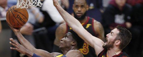 121-87. Oladipo y los Pacers humillan a los Cavaliers de James y empatan la serie