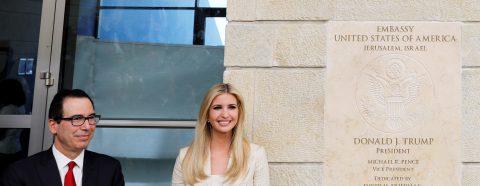 Estados Unidos inaugura en Jerusalén su embajada en Israel