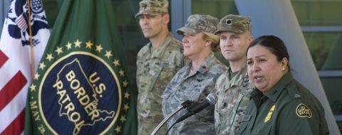 California recibe medio centenar de efectivos de la Guardia Nacional