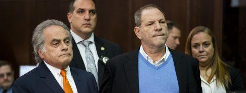 Weinstein pleads not guilty to rape, sexual assault