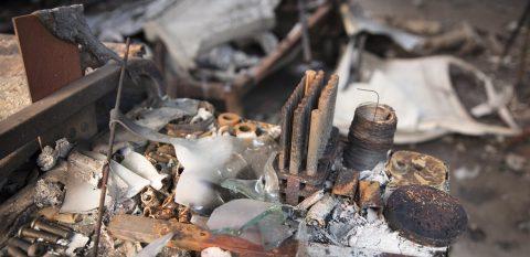 California fire survivors now facing water contamination