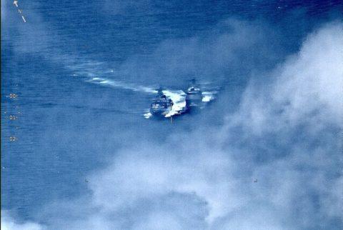 Buques de guerra rusos y estadounidenses casi chocan en el Pacífico