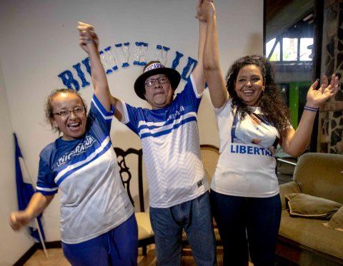 Nicaragua libera a opositores presos bajo ley de amnistía