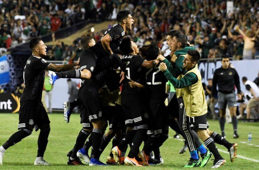 Dos Santos marca gol que proclama a México campeón y rey de la Concacaf