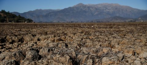 Dried-up Aculeo Lagoon shows the woes of climate change in Chile
