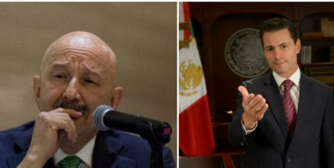 Señalan a Peña Nieto y Salinas de Gortari por lavado de dinero en México