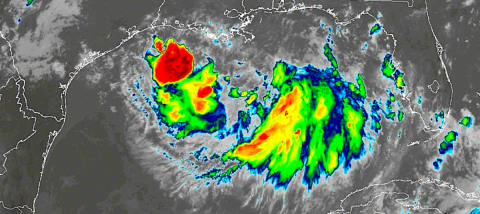 T.S. Barry forms in Gulf, expected to hit southeast US as hurricane