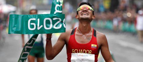 Pintado wins gold for Ecuador in Pan Am Games race walking