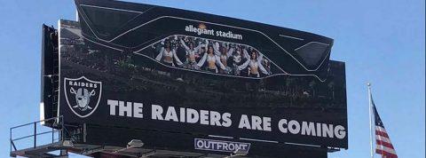 Nuevo campo de los Raiders se llamará Allegiant Stadium