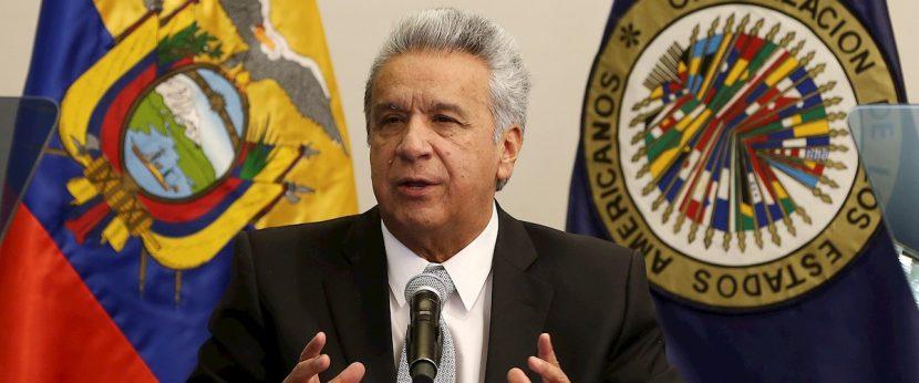 El presidente de Ecuador ataca a Correa en la inauguración de las sesiones de la CIDH