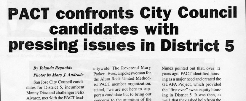 PACT confronts City Council candidates with pressing issues in District 5