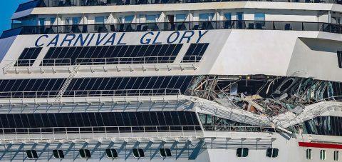 Dos cruceros chocan en la isla mexicana de Cozumel sin dejar turistas heridos