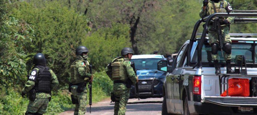 Mueren 7 civiles y un miembro de Guardia Nacional en choque armado en México