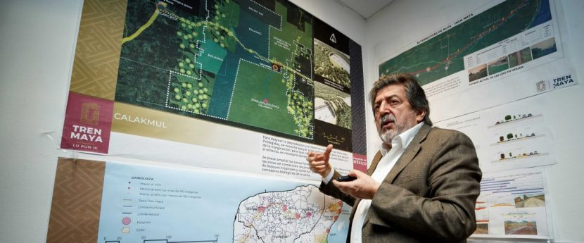 México firma convenio con la Unesco para acompañar el proyecto del Tren Maya