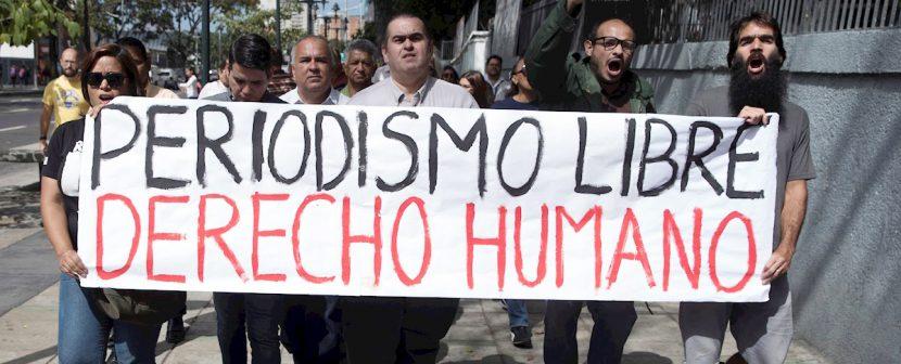 Periodistas venezolanos denuncian las agresiones de simpatizantes de Maduro