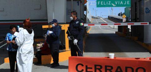 El cruce entre México y EE.UU. se dificulta y reduce por la COVID-19