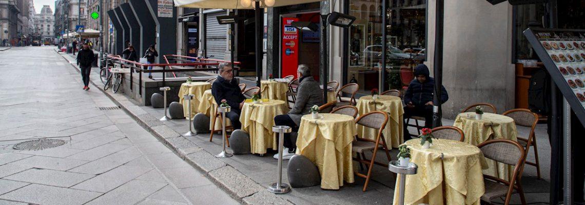 Unos 50.000 bares y restaurantes podrían cerrar en Italia tras la pandemia