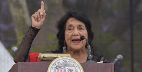 Dolores Huerta apoya la candidatura de Joe Biden
